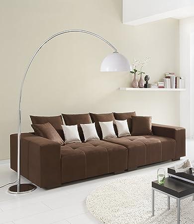 Big Sofa 260 – Made in Germany – Bezug Alcatex Noble Lux - Freie Farbwahl ohne Aufpreis aus ca. 70 Farben – Nahezu jedes Sondermaß möglich! Sprechen Sie uns an. Info unter 05226-9845045 oder info@highlight-polstermoebel.de