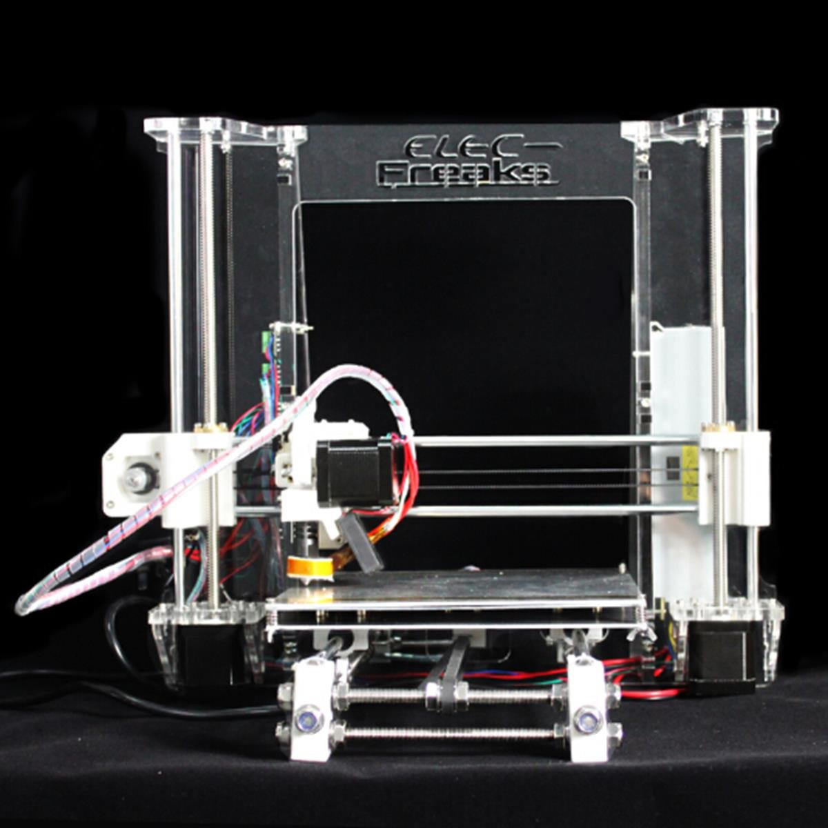 Фото 3D Printer Reprap Boards Prusa I3 Full Eboti3 Reprap Prusa I3 (Aluminium Frame) Full Kit funssor black color reprap prusa i3 mk3 aluminium composit frame kit 6mm melamine frame