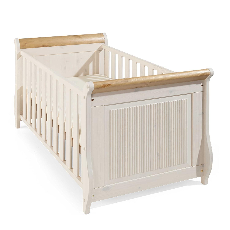 daheim.de Kinderbett Aviano 70 x 140 cm weiß günstig kaufen