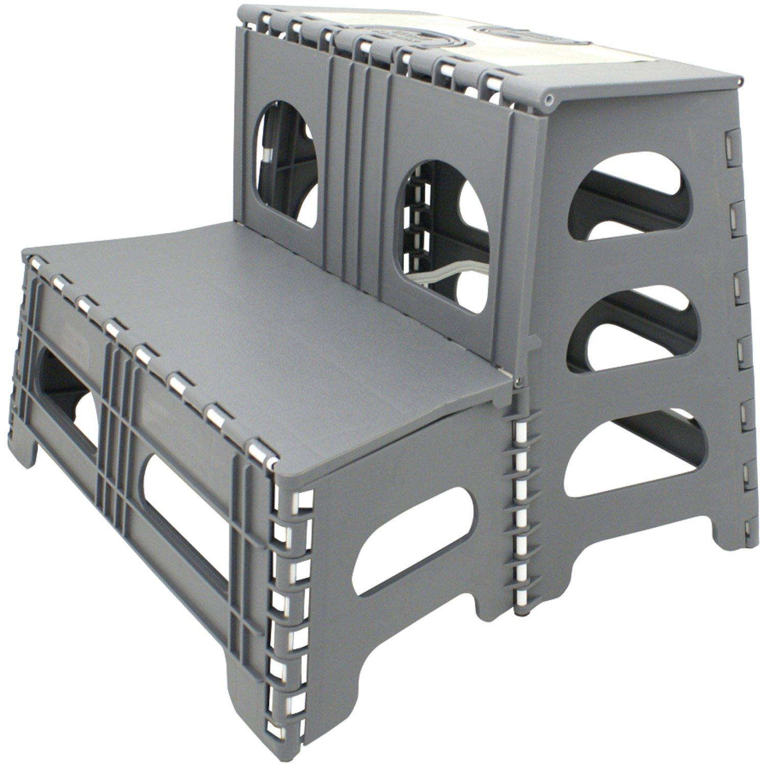 Double Step Stool Stair Rv Camper Motorhome Garage