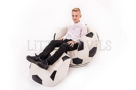 Tamaño grande para adultos de balón de fútbol de sillas de diseño giratoria sport/sillón para niños (tamaño ideal para niños adolescentes y adultos)