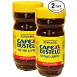 Bustelo Instant Coffee. Large 7.05 oz glass jar. Pack of 2 (Tamaño: 2 Pack)