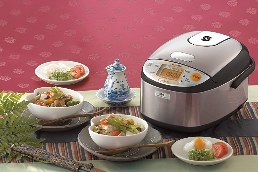Zojirushi NP-GBC05-XT Induction Heating System Rice Cooker Via Amazon