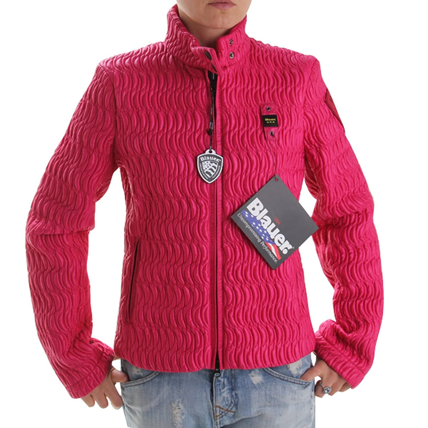 BLAUER USA Damen Fashion Outdoor Jacke Magenta 122