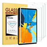 SPARIN [3 Pack] Screen Protector for iPad Pro 11 Inch, [Highly Responsive] [Upgraded Designed] Tempered Glass Screen Protector Work with Face ID -Apple Pencil Compatible/Alignment Frame (Color: Clear)