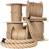 UnManila Polypropylene Rope Cordage - Tug of War Rope - All Purpose ProManila Cord for Decor, Crafts, Sporting, and Landscaping (1 1/2 Inch x 300 Feet) (Tamaño: 1 1/2 Inch x 300 Feet)