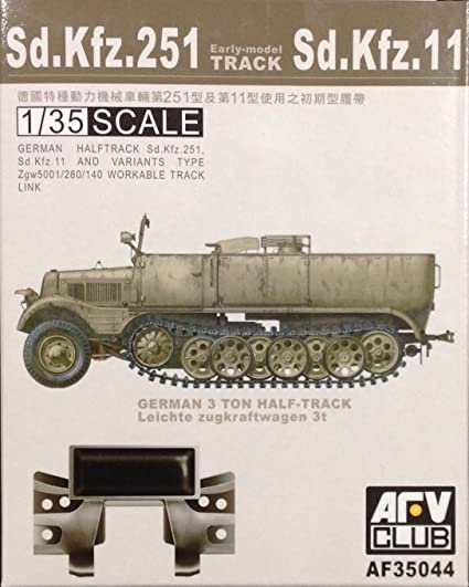 Sd. Kfz. 251 Tracks (early)