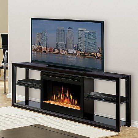 Dimplex Novara Black Entertainment Center Electric Fireplace