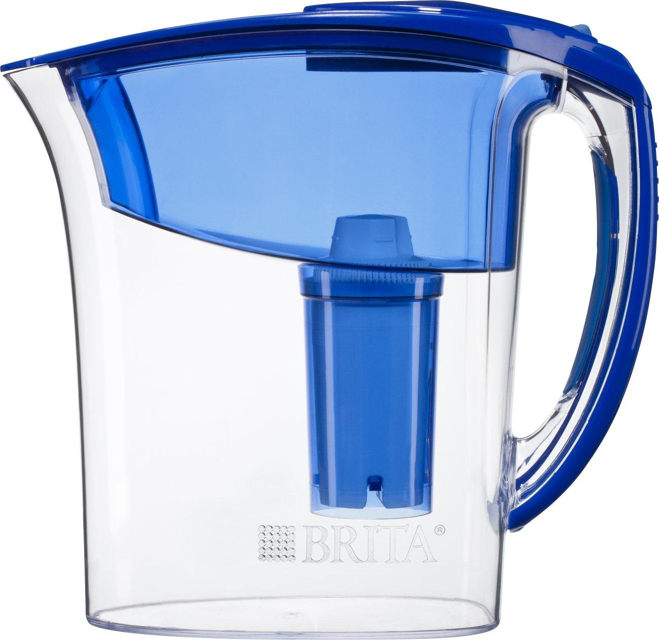 Brita atlantis water filter pitcher blue 6 cup new free shipping ebay - Brita carafe filtrante ...