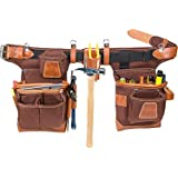 Occidental Leather 9855 Adjust-to-Fit Fat (Color: Cafe, Tamaño: right hand)