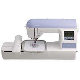 Brother PE770 5x7 inch Embroidery-only machine width=