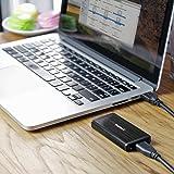 Inateck USB3.0 HDD外付けケース M50 mSATAにサポート UASP超高速データ転送モードに対応 アルミ製