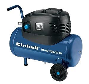 Einhell BTAC 200/24 OF Kompressor ölfrei, 1,1 kW, 24 Liter, Ansaugleistung 176 l/min., 8 bar, 1 Zylinder  BaumarktKundenbewertung und Beschreibung