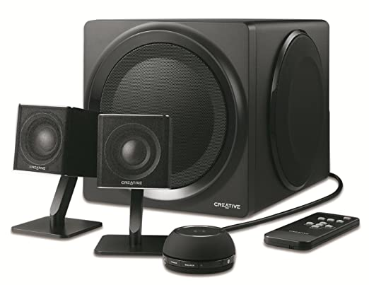 Creative T4 Wireless Signature - Haut-parleurs Multimedia sans fil 2.1 Bluetooth NFC Optique - Haute Performance