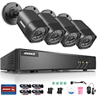 ANNKE HD-TVI 8-Channel 4-Cameras 1080P Lite Video Security System