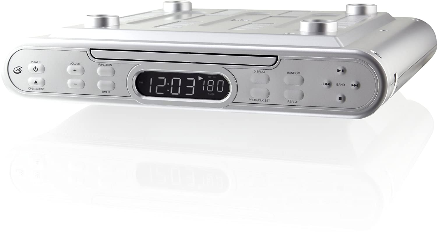 Best Under Cabinet Kitchen Cd Clock Radio Reviews 2016