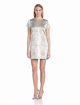Sanctuary Clothing Women's Party Shift, Gold, X-Small