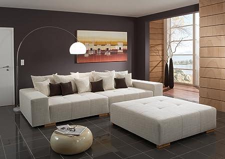 Big Sofa Webstoff – Made in Germany – Freie Farbwahl ohne Aufpreis aus unseren Webstoffen unter http://www.highlight-polstermoebel.de/webstoffe.html – Nahezu jedes Sondermaß möglich! Info unter 05226-9845045oder info@highlight