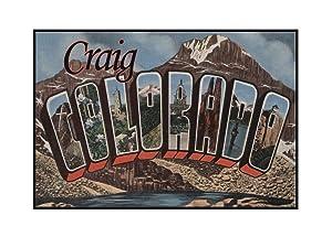 Craig, Colorado poster