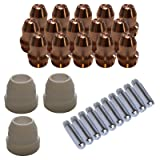 Lotos LCS33 Plasma Cutter Consumables Sets for Brown Color LT5000D and Brown Color CT520D (33 Pieces) (Tamaño: 33 Pieces)