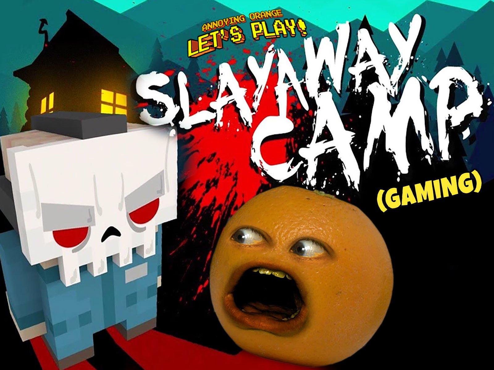 Clip: Annoying Orange Let's Play - Slayaway Camp (Gaming)