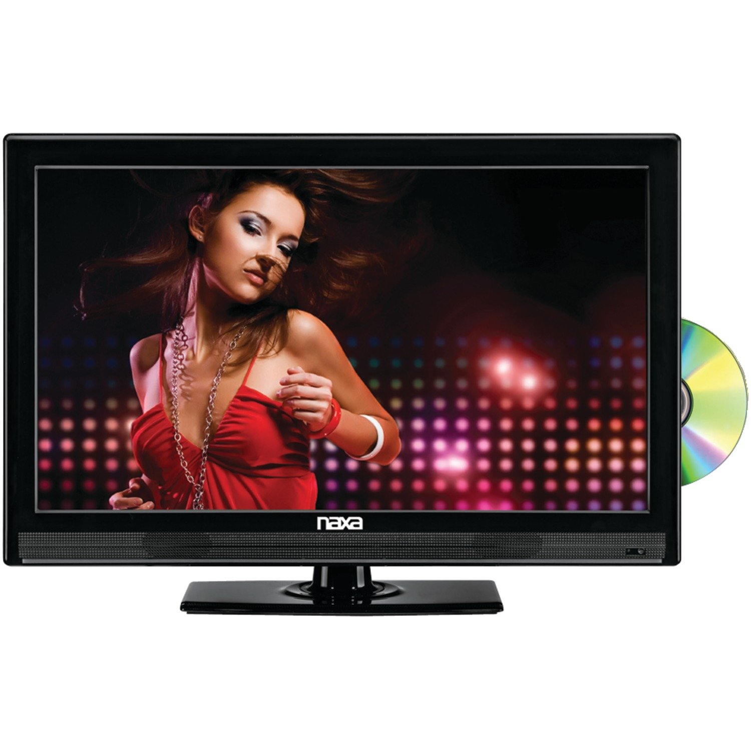 NAXA NTD-2252 22-Inch Widescreen Full 1080p HD LED TV with Built-in Digital TV Tuner and USB/SD Inputs and DVD Player