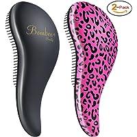 Bombex Deluxe Detangling Hair Brush 2-Pack