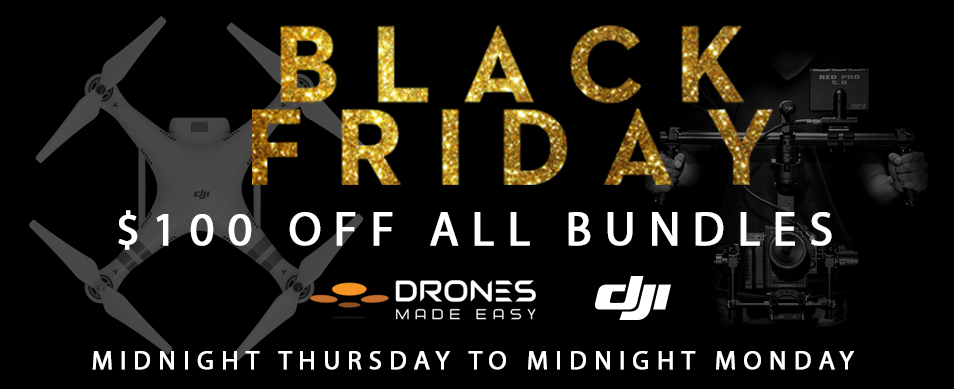 Drones Made Easy Black Friday Inspire 1 San Diego