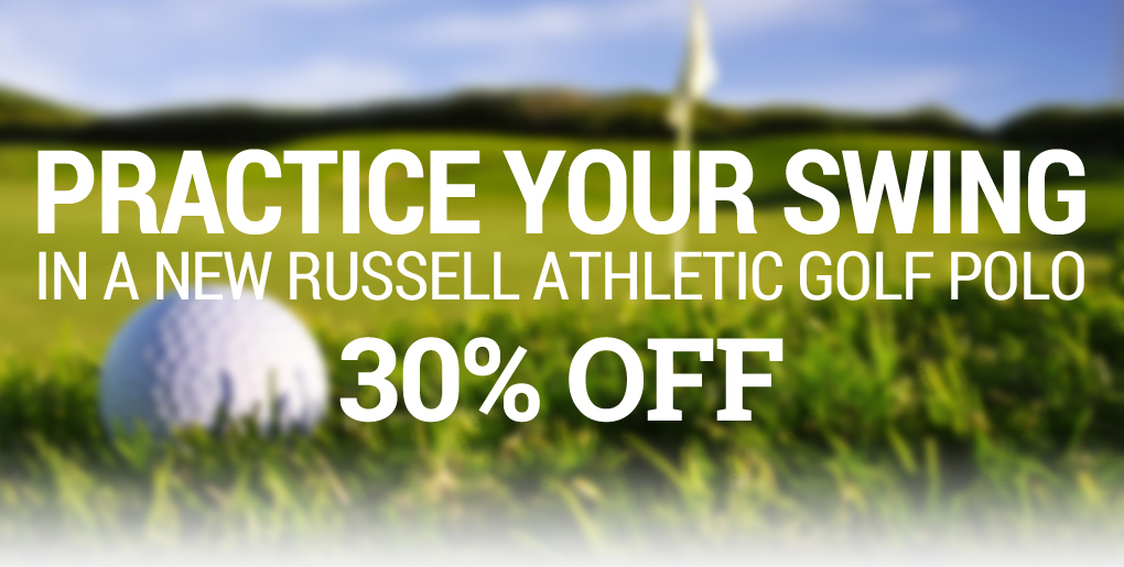 Russell Athletic Golf Polo Sale