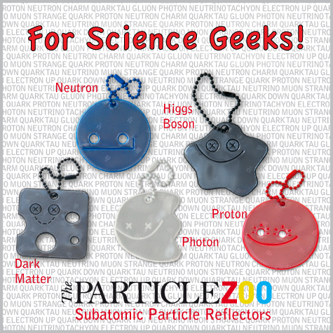 reflectors and gifts for physicists,  science geeks and science lovers