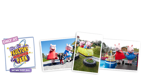 Visit Peppa Pig World