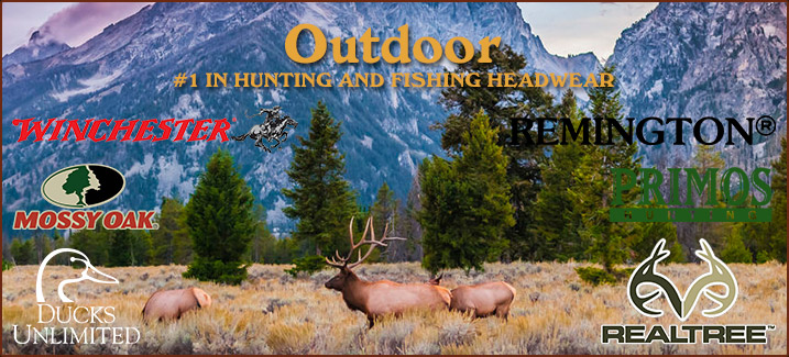 Outdoor Hunting and Fishing Headwear
