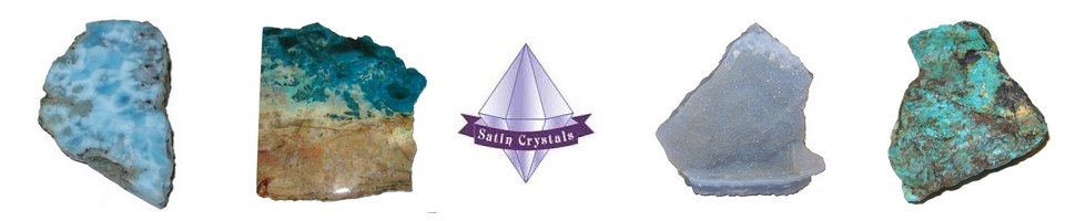 Satin Crystals Banner