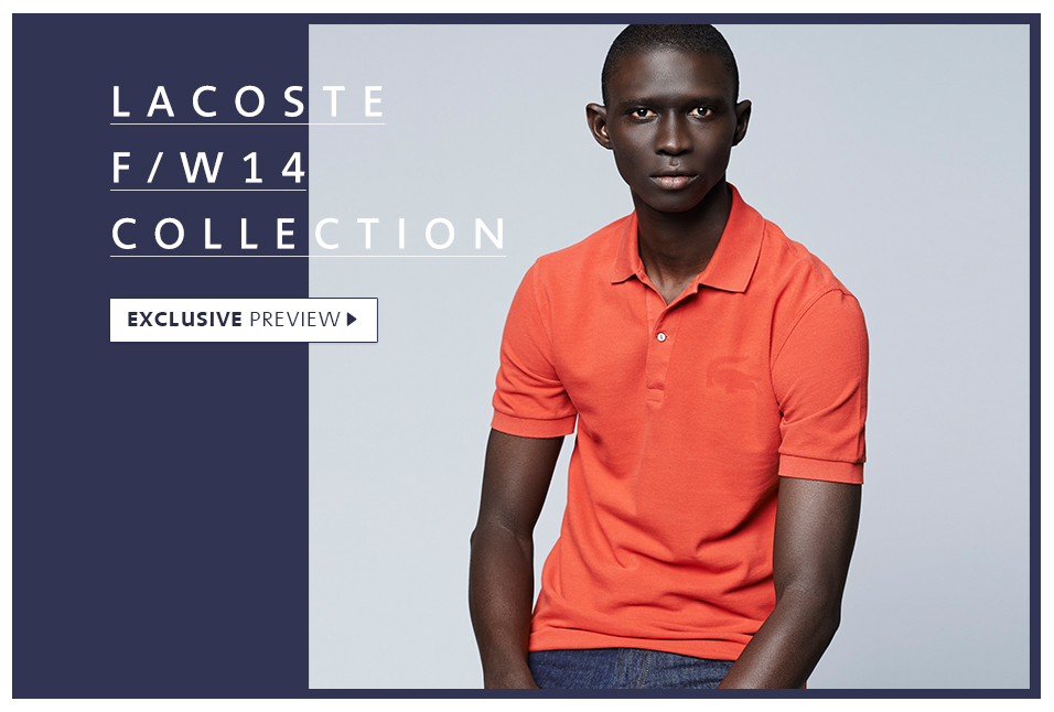 Shop Lacoste Fall Preview
