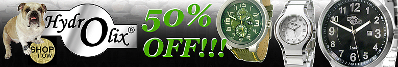 25% off Hydrolix Watches