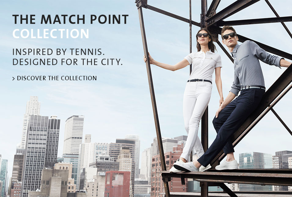 Shop Lacoste Matchpoint Collection