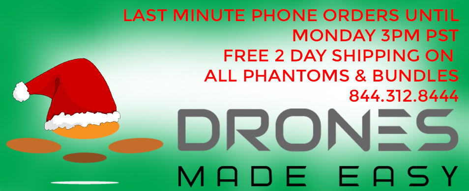 Drones Made Easy Phantom 2 FPV Bundles Vision plus San Diego