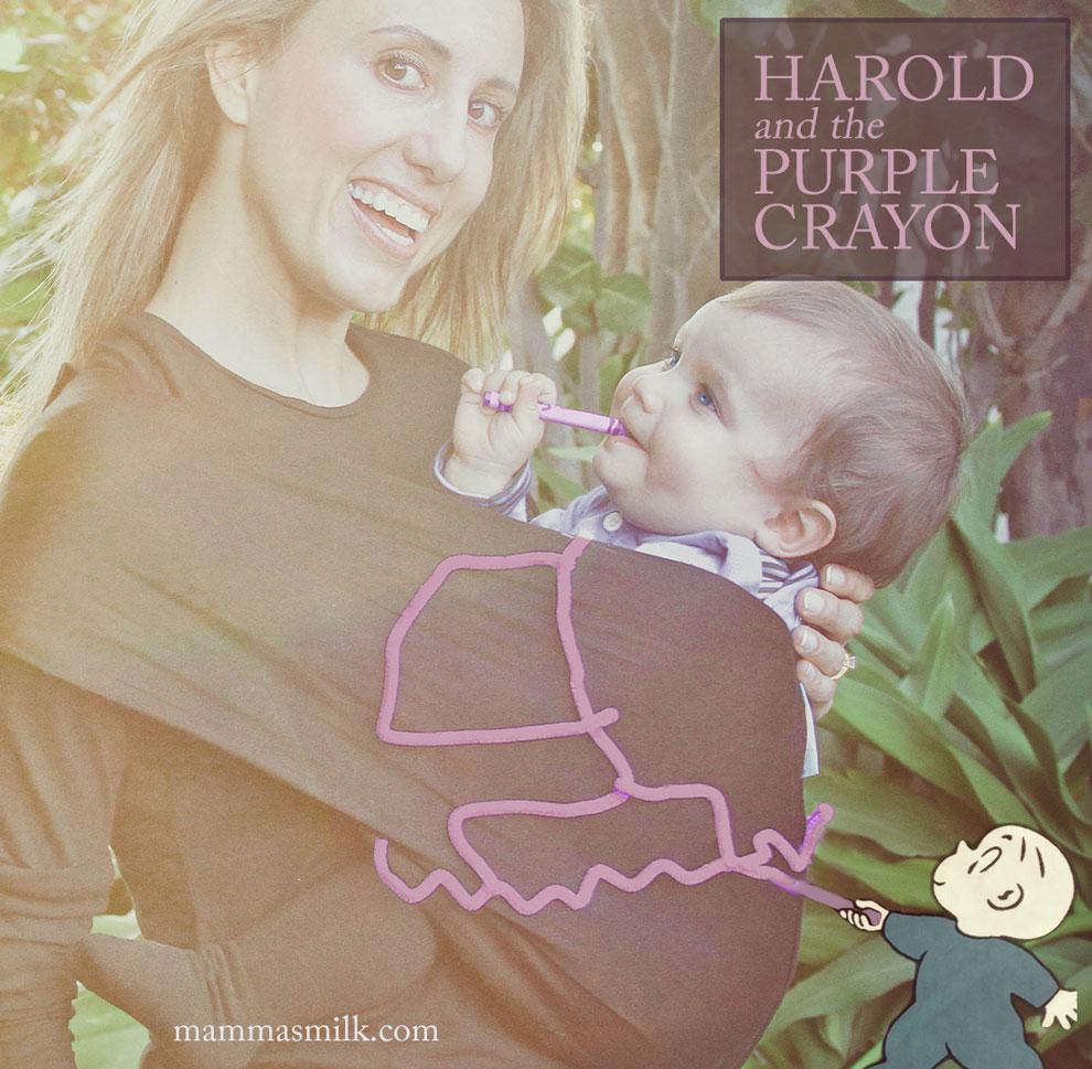 harold and the purple crayon baby halloween costume