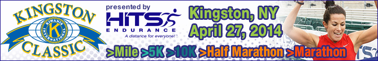 Click here to register for the Kingston Classic. April, 27 2014.