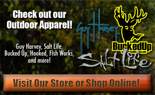 Click to view items for sale in our Apparel Department