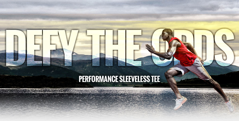 Defy the Odds with Russell Athletic Dri-Power Performance Sleeveless Tee