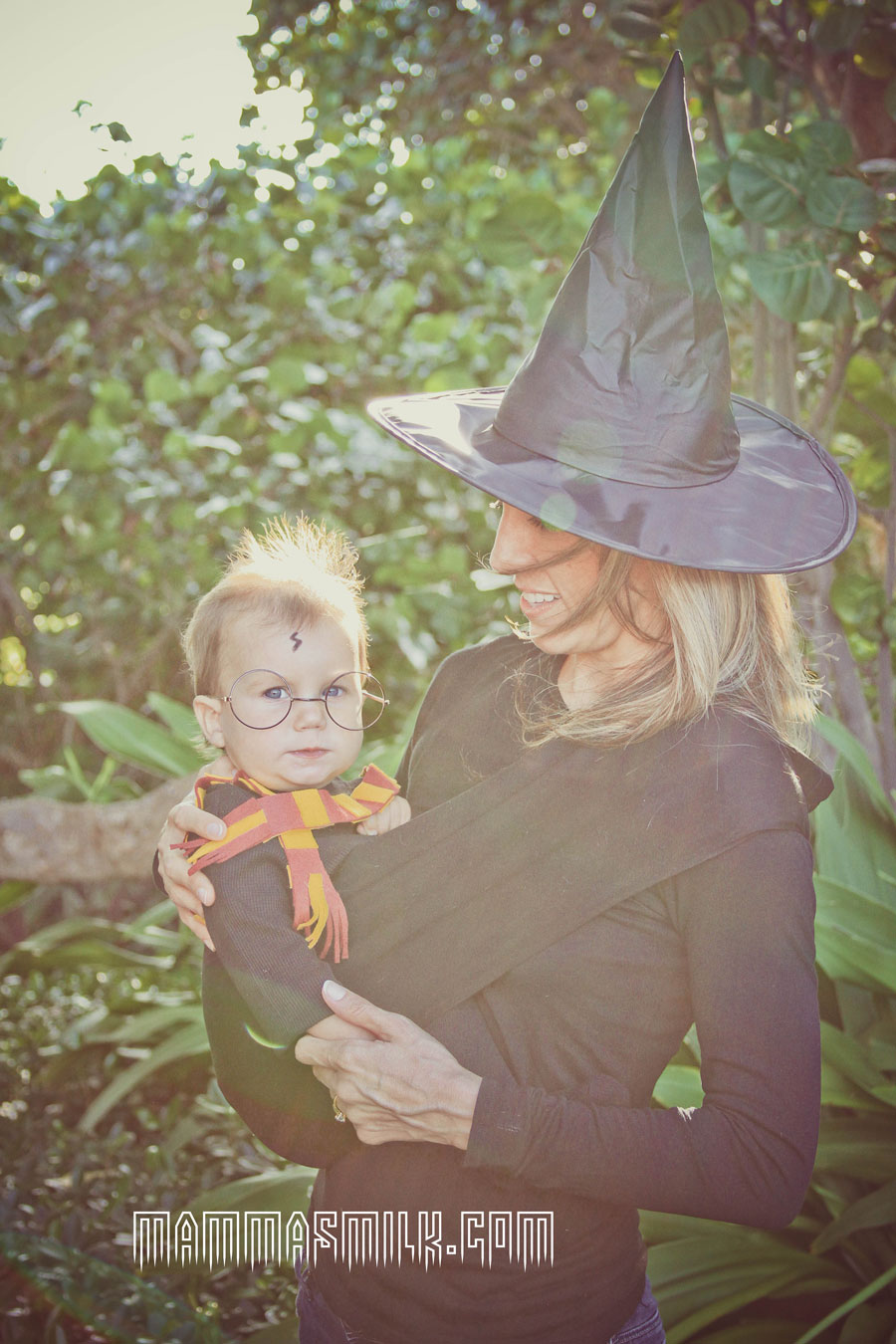 harry potter halloween costume mom and baby