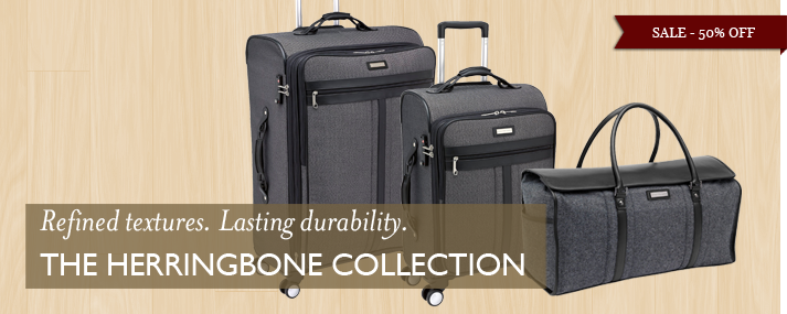 Refined Textures. Lasting durability. The Herringbone Collection.