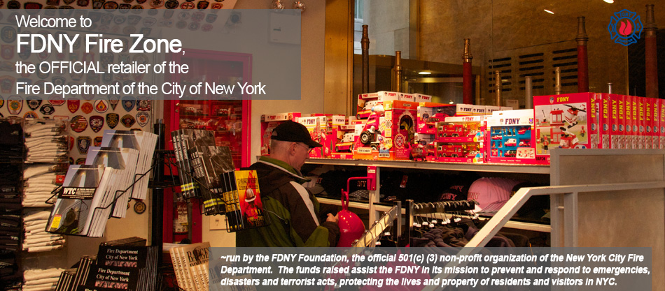 The OFFICIAL retailer of the FDNY