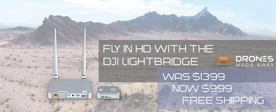 Drones Made Easy DJI Lightbridge San Diego Inspire 1 one