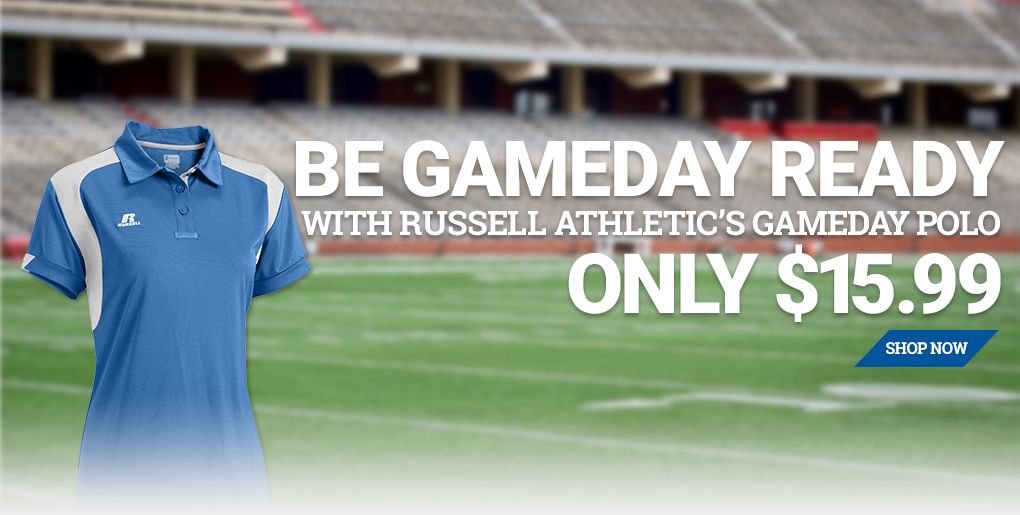 Russell Athletic Game Day Polo
