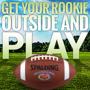 Spalding Rookie Gear Football - Get your rookie outside and play