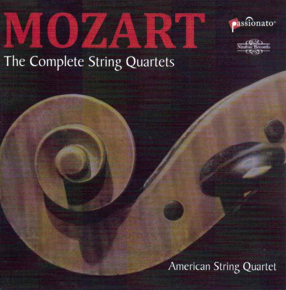 Free! 6 CD Set - Mozart String Quartets