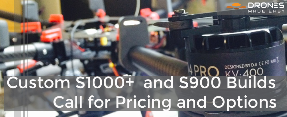 Drones Made Easy DJI S1000+ S900 Inspire 1 San Diego
