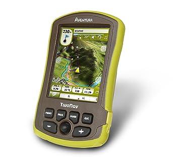 TwoNav Aventura GPS Cartes UK Vert/marron (en anglais)